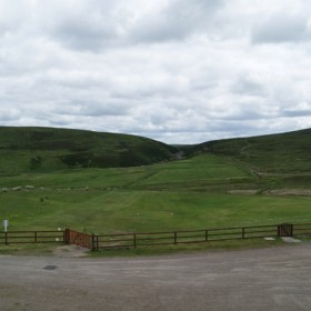 Leadhills Golf Club, the highest course in Scotland