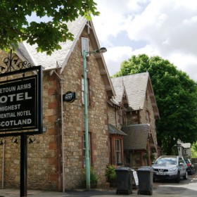 Scotland's Highest Hotel, located in Leadhills village