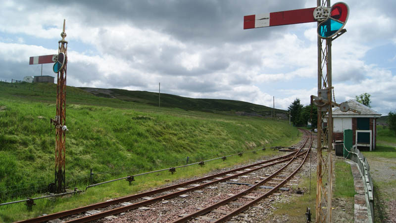Railway on Leadmills Estate